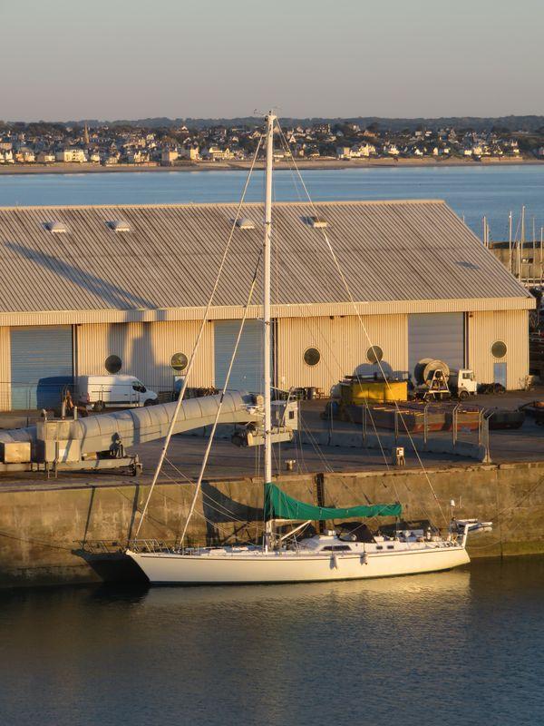 Spirit of Conrad au port